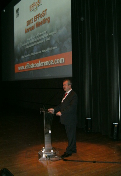 The conference of the European Union of Food Science and Technology – «2012 EFFoST Annual Meeting»